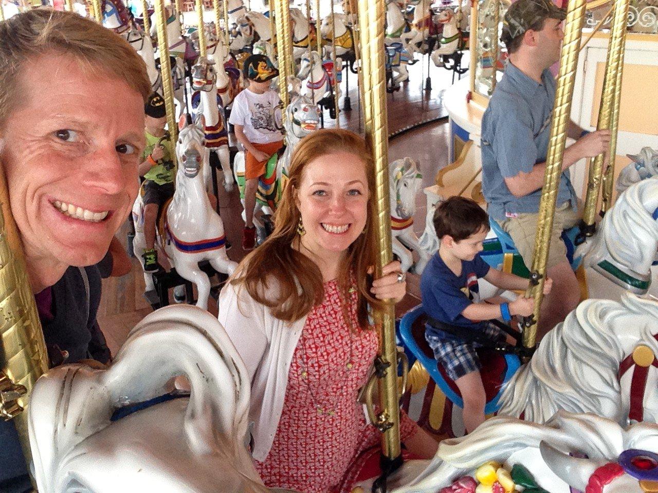 Kristina and Joe share some magic | MouseMingle.com