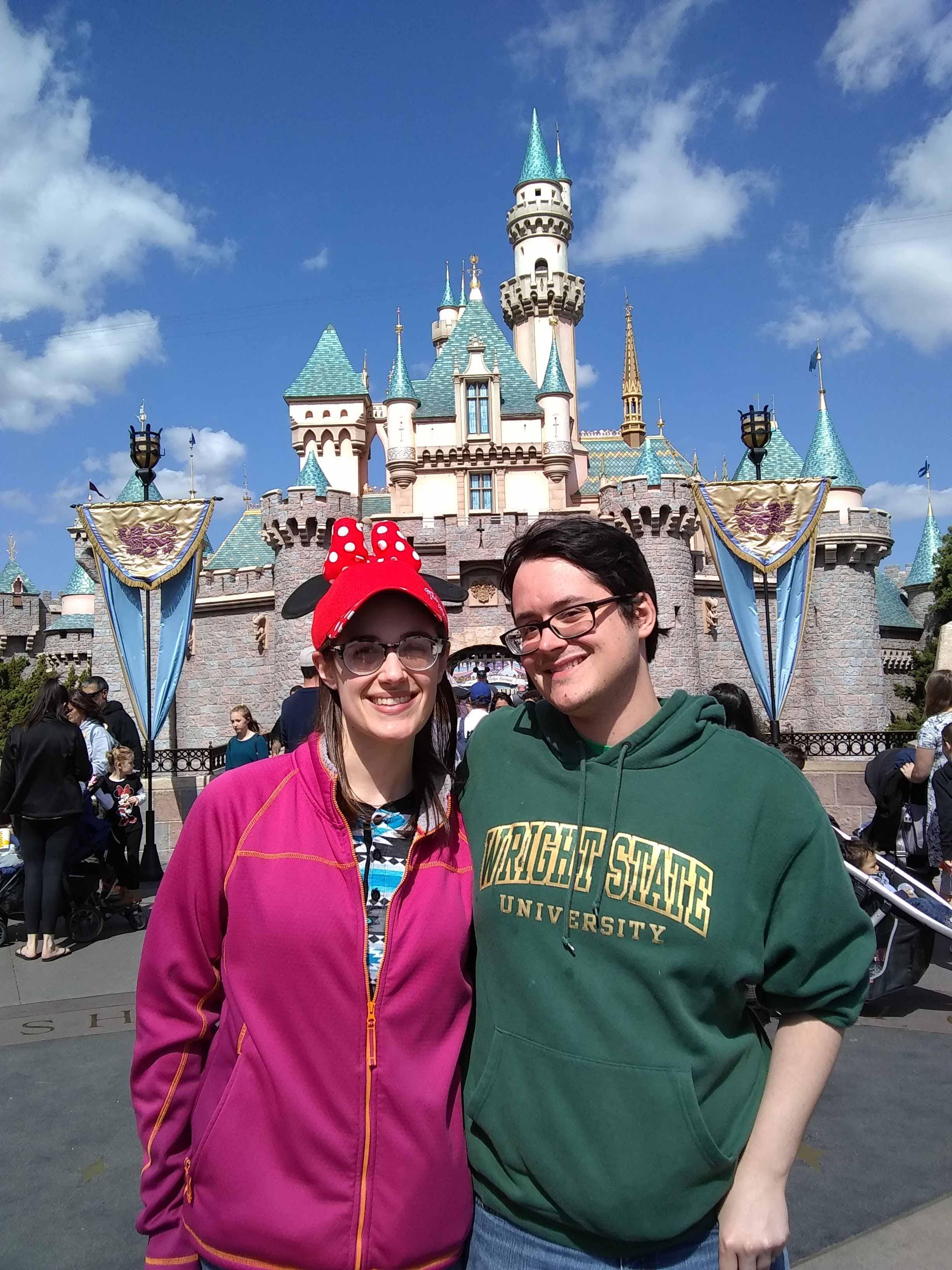 Kristin and David at Disneyland | MouseMingle.com