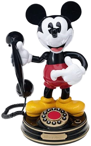 Mickey Phone for Movie Phone Dates | MouseMingle.com